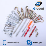 High Quality Turkey Type Yellow Zinc Anchor Bolt