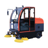New Type Industrial and Commercial Application Automatic Ride on Street Road Floor Sweeper Floor Cleaning Machine Sweeping Machine Auto Rider Sweeper