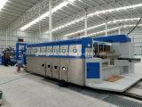 Flexo Printer Slotter Die Cutter & Folder Gluer Stitcher Corrugated Carton Printing Gluing Machine