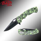 """4.5""""3Cr13 MOV S. Steel Black Coated Blade Spring Assisted Knfie Folding Knife Pocket Knife"""