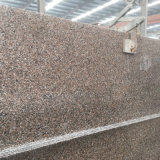 China Cheap Natural Stone Granite Brown G361, Wulian Red Flooring Tile/ Stairs/ Step/Countertop/ Skirting/Wall Tiles