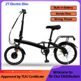 China Factory Direct Mini Pocket E Bike Outdoor Electric Folding Bicycle with Lithium Power