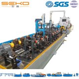 Heat Exchanger Welding Tube Mill Line Stainless Steel Coil Pipe Making Machine