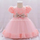 Baby Wear Girls Party Garment Ball Gown Princess Frock Lace Sweet Dress