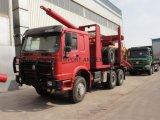 Long-Log Transportation Truck Trailer 80 Ton Logging Transport Vehicles for Sale