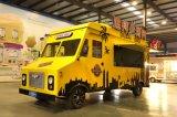 Jekeen Electric Fast Food Truck Mobile Food Cart Trailer Hot Dog Vending Cart Ice Cream Push Cart
