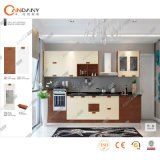Modern Furniture Glossy PVC Door Panel Kitchen Cabinet.