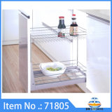 Wire hardware baskets for kitchen