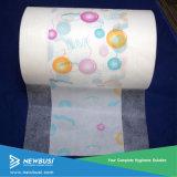 Customized Soft Lamination Cloth Like PE Film for Baby Diaper Backsheet