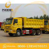Used 371HP HOWO 10 Wheels Dump Truck Tipper 6X4 with Good Condition for Africa