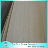 Ply 8mm Natural Edge Grain Bamboo Plank for Furniture/Worktop/Floor/Skateboard
