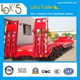 Lowbed Semi Truck Trailer with Heavy Duty