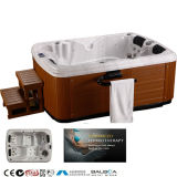 Classical Model 3 Person Outdoor SPA/Massage Whirlpool Bathtub with Acrylic