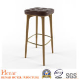 """26"""" Durable Armless Wooden Legs Bar Stools for Kitchen/ Dining"""
