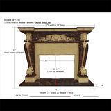 Multi-Colored Fireplace for Home Decoration & Building Material Mfp-729