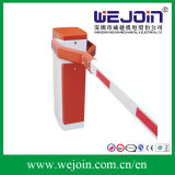 Red Intelligent Automatic Road Boom Barrier Gate with Limit Switch
