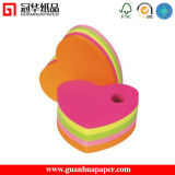 New Design Heart Sticky Note Memo Cube with Pen Holder