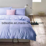 Cheap Plain Dyed Microfiber Solid Color Bedding Fabric for Home Textile/South American