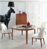 Natural Stone /Marble Dining Table with Round Shape