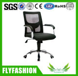 Office Black Mesh Fabric Chrome Leg Chair (OC-78)