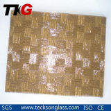 3-8mm Bronze Woven Patterned Glass