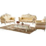 Wooden Sofa with Coffee Table for Living Room Furniture (929AS)