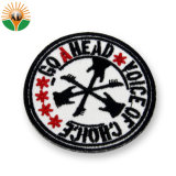 Cheap Custom Souvenir Rounded Embroidery Patches