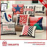 Latest Design Decorative Cheap Linen Throw Seat Pillow Cover /Sofa Cushion Case