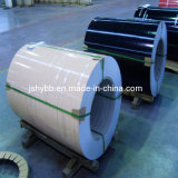 Color Coated Steel Sheet 5+15um Whith Color PE Mill's Grey 7um