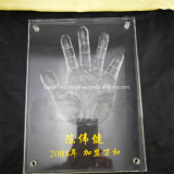 Wholesale Custom Crystal Trophy Crystal Handprint Personalized Souvenir Lettering
