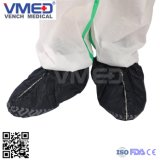 Disposable Spp Full Elastic Shoe Cover with Hand Printed Bottom