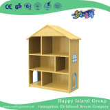School Toddler Wooden Villa Books Cabinet (HG-4603)