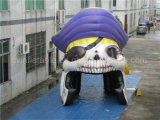 Inflatable Captain Pirate Tent, Inflatable Party Tent for Activities