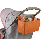 OEM Waterproof Nylon Baby Stroller Saddlebag Pannier Bag Organizer