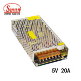 100W Single Output Switching Power Supply 5VDC 20A LED Driver