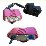 3000lm Cycling CREE Xml-T6 3LED Front Bike Headlamp (HW-330)