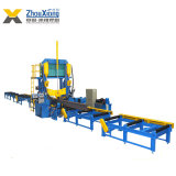 Automatic Assembly Welding Straightening Steel Structure H Beam Welding Production Machine Line