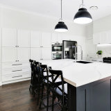 Modern Home Furniture Lacquer Kitchen Shaker Door Solid Wood Kitchen Products