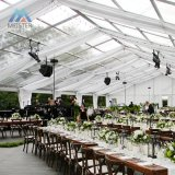 Large Clear Span Outdoor Transparent Roof Wedding Party Event Tents Marquee