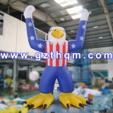 Advertising Custom Hot Movie Cartoon Sasquatch Inflatable Characters