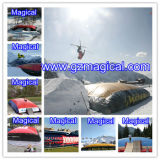 Customized Big Inflatable Jump Air Bag for Skiing (MIC-923)