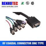 D-SUB 15 Pin to 5 BNC Female Video Cable