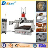 3D Sculpture Moulding Engraver 9.0kw Stone Engraving Dilling Cutting CNC Router Machine