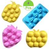 Fruits Silicone Mold, Gummy Candy Chocolate Mold Ice Cube Tray