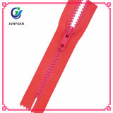 Open End Plastic Sports Clothes Zipper with Competitive Price