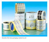 Customized Roll Adhesive Label Sticker