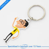 Cartoon Customized Silicone Key Ring/Chain for Publicity