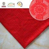 Fashion Red Lady Dress Lace Fabric 171