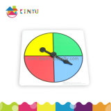 Math Learning Toys Plastic Spinner with Plastic Arrow
