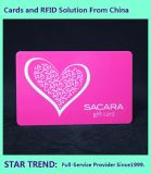 Valentine Card Made Plastic with Magnetic Stripe